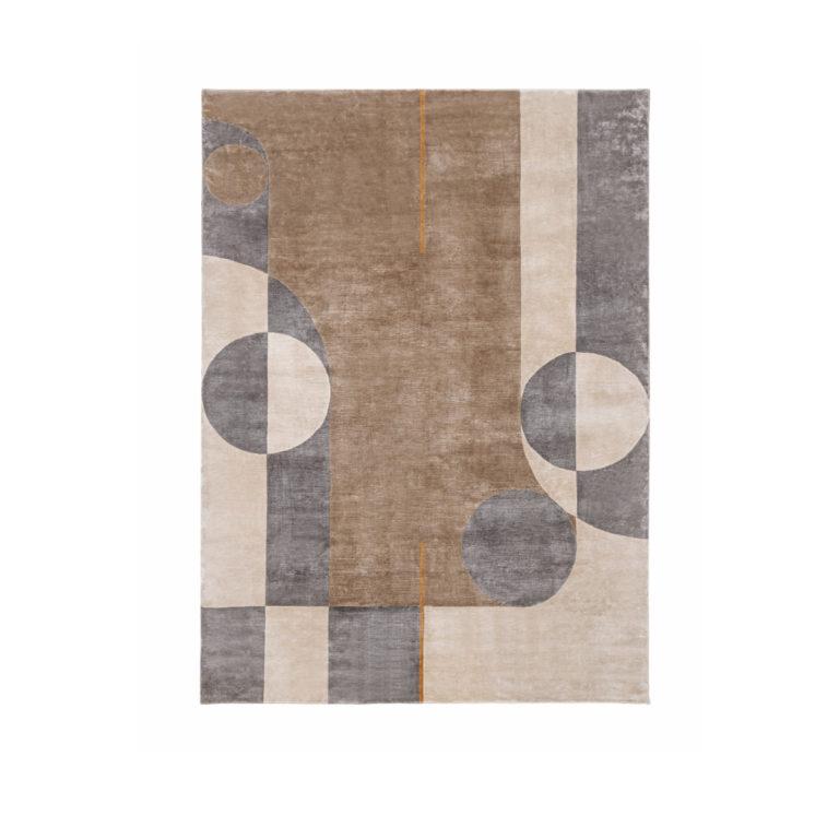 Eclipse圆环图案地毯