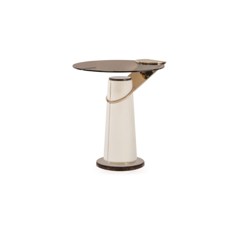 Eclipse -glass side table