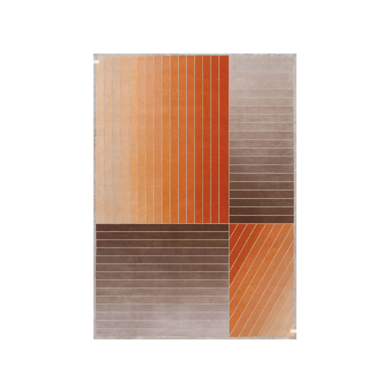Madison-orange carpet