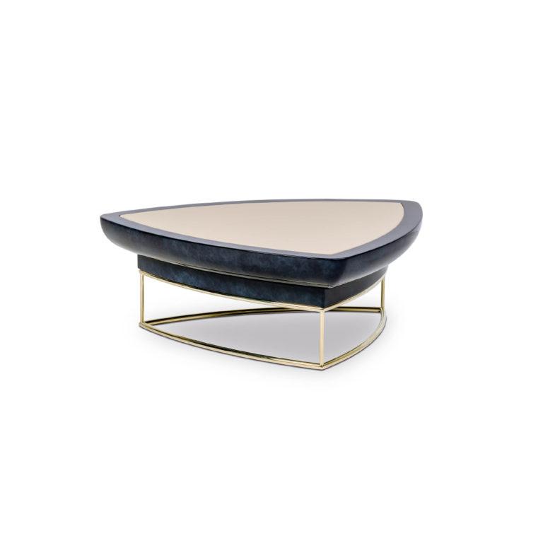 Madison-triangle coffee table