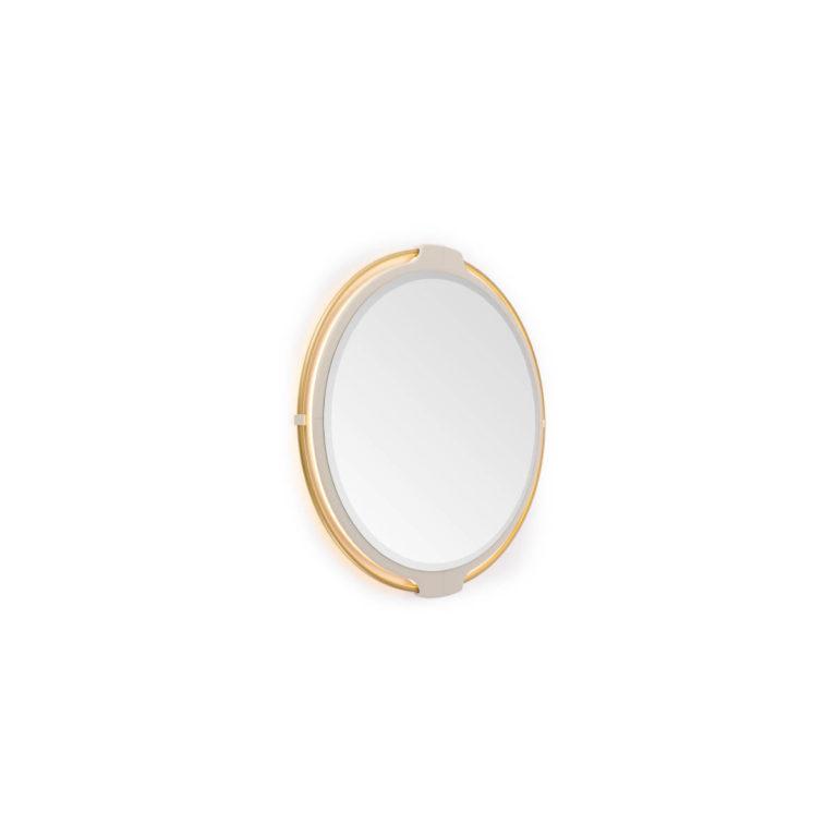 Vine-round mirror