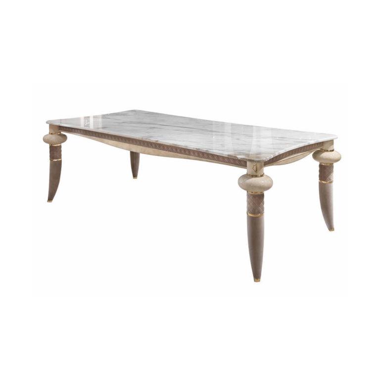 caractere-rectangular table