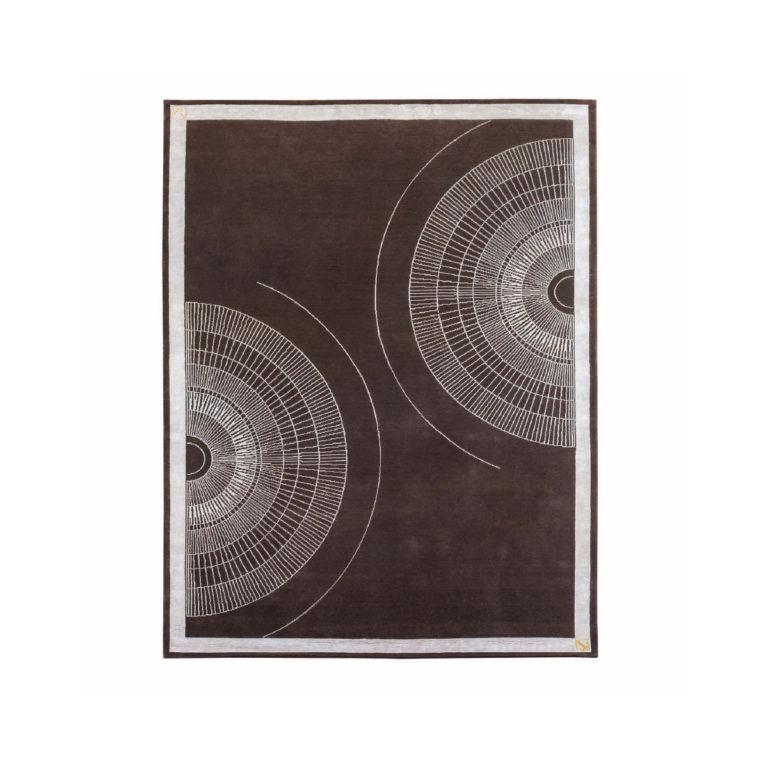 Noir ковер круги