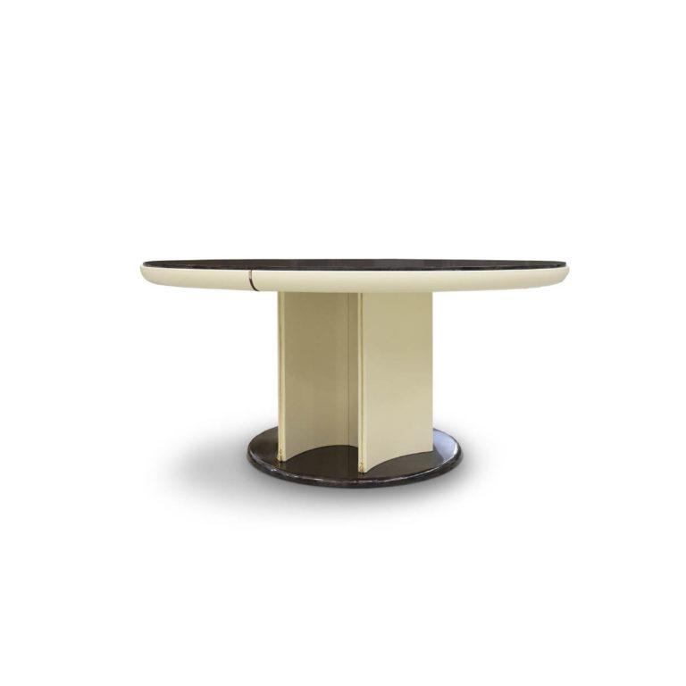 noir-round table