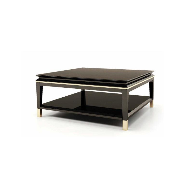 noir -sqaured coffee tabele