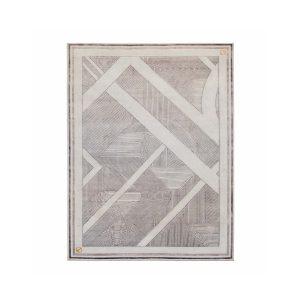 noir-stripe carpet