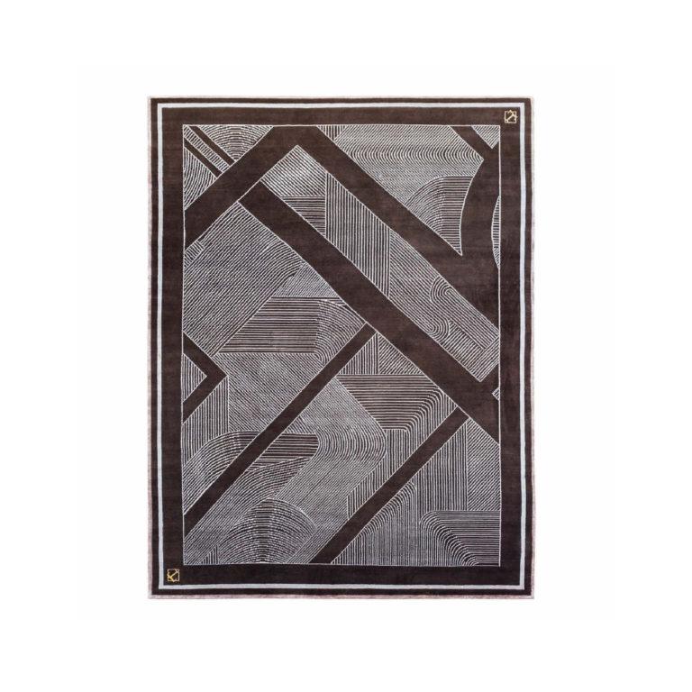 Noir ковёр полосы