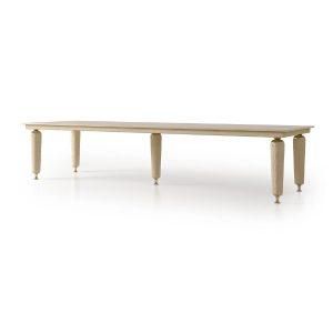 numero tre-rectangular table