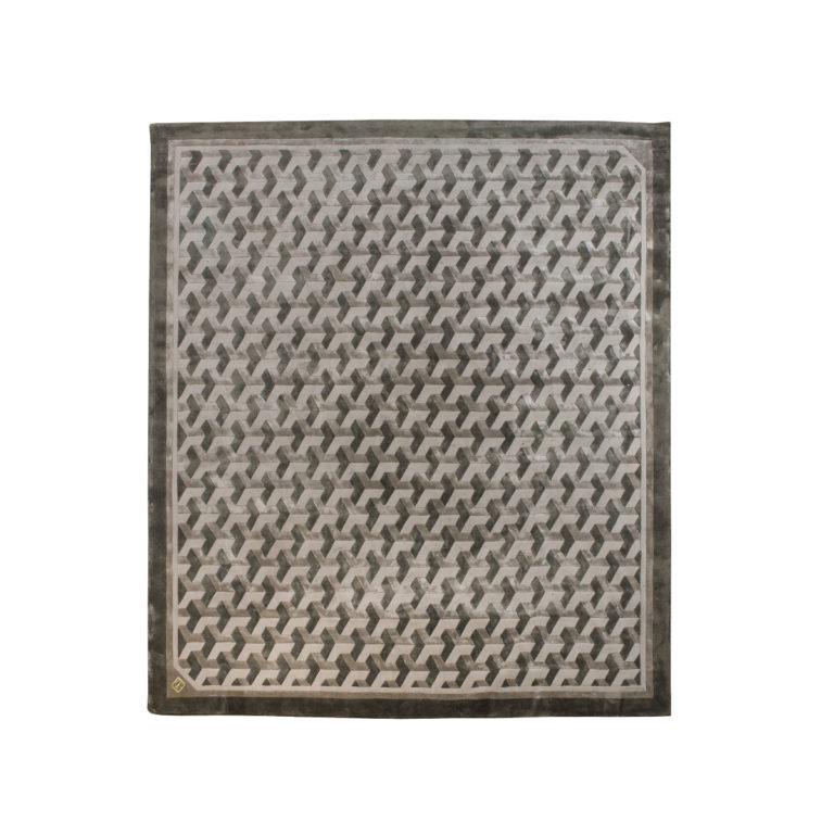vogue-polygon grid carpet